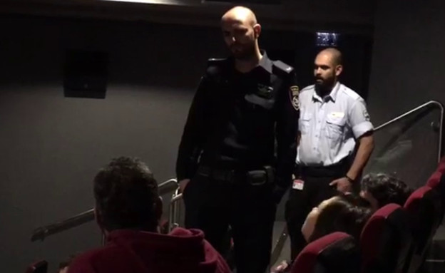 """עיתונאים סולקו מכנס בקולנוע """"לב"""" 2  (צילום: יגאל סרנה)"""