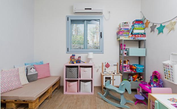 תל יוסף, עיצוב דלית שפרן, חדר ילדים (21) (צילום: שירן כרמל)