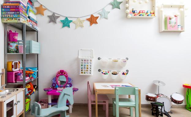 תל יוסף, עיצוב דלית שפרן, חדר ילדים (22) (צילום: שירן כרמל)