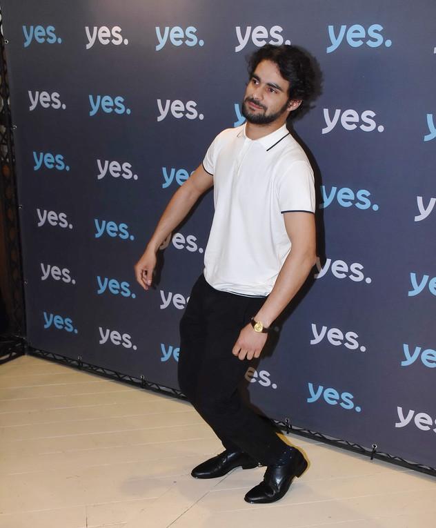 פיראס נסאר באירוע של yes, מרץ 2018