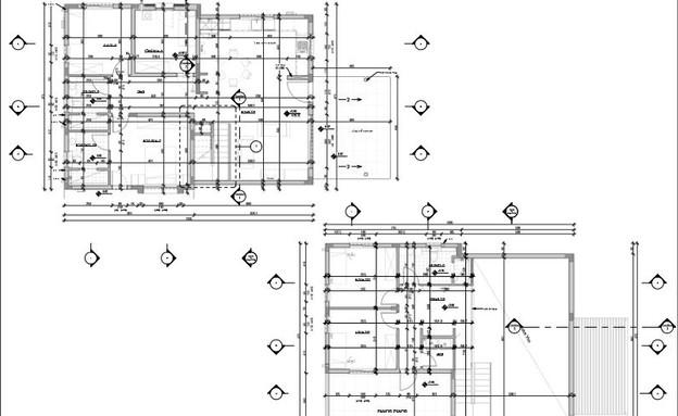 תל יוסף, עיצוב דלית שפרן, תוכנית אדריכלית (24) (שרטוט: יעל שיבולי)
