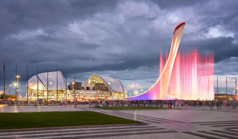 האצטדיון בסוצ'י (צילום: ansharphoto , shutterstock)