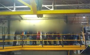 עובדים חסרי תנאים (צילום: חדשות 2)