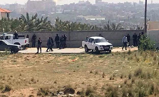 כוחות חמאס מכתרים את בית המבוקש