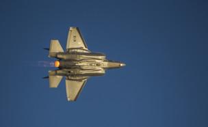 F-35 אדיר (צילום: מור צידון, בטאון חיל האוויר)