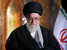 המנהיג העליון של אירן, חמינאי (צילום: AP)
