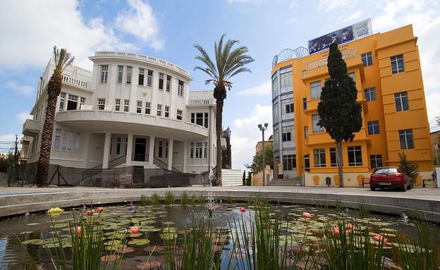 כיכר ביאליק (צילום: Silvio.ilia, ויקיפדיה)