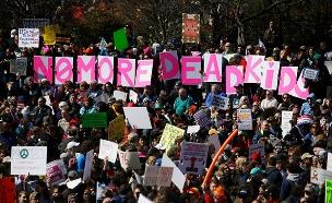 """צעדה נגד כלי נשק בארה""""ב, היום"""