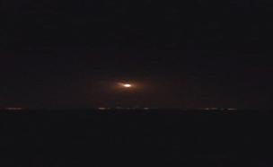יירוט באשקלון (צילום: חדשות 2)