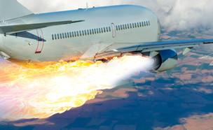 התרסקות מטוס (צילום: kateafter | Shutterstock.com )