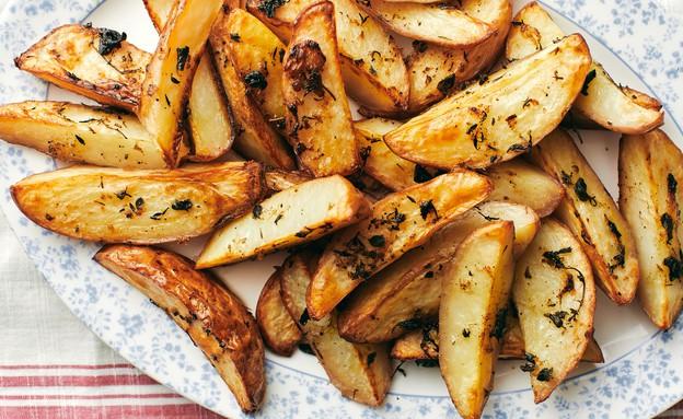 תפוחי אדמה הכי פריכים שיש (צילום: אמיר מנחם, אוכל טוב)