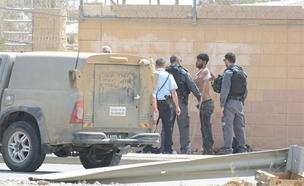 מחבלים חמושים הסתובבו (צילום: שמואל הס TPS)