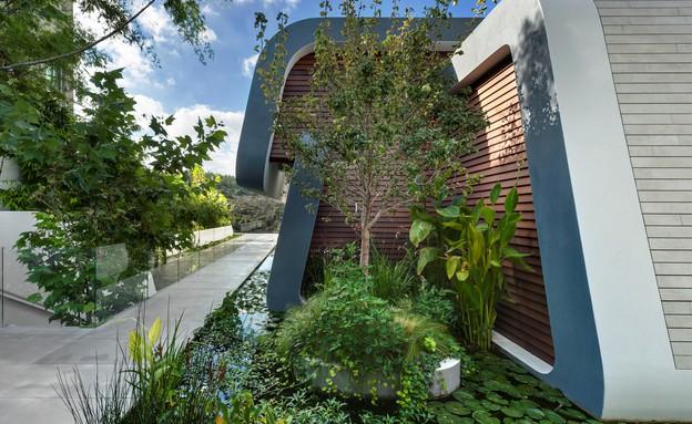 בית בצפון, תכנון אריאל פרנקו,חדר שינה (צילום: עודד סמדר)