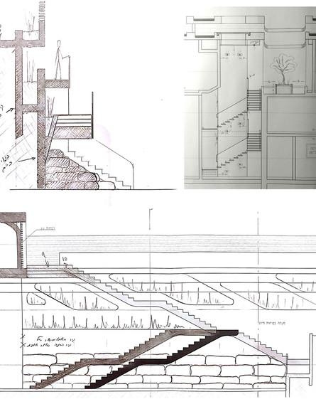 בית בצפון, ג, תכנון אריאל פרנקו (שרטוט: אריאל יאצק פרנקו)