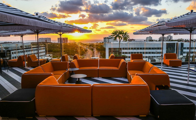 גג המלון (צילום: אלירן אביטל)