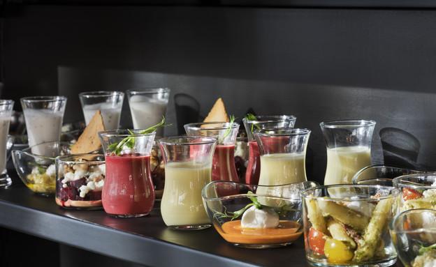 האוכל במלון (צילום: אסף פינצ'וק)