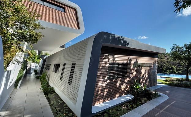 בית בצפון, תכנון אריאל פרנקו, חוץ1 (צילום: עודד סמדר)