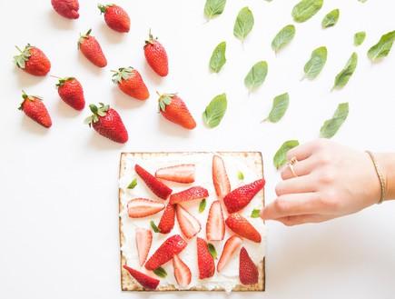 מצות תות ונענע (צילום: עידן חסון, כלות אורבניות)