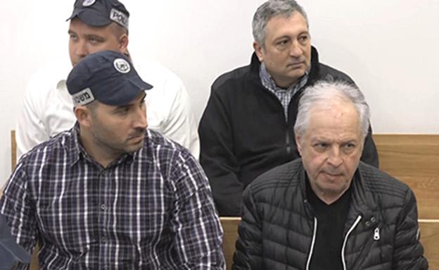 אלוביץ' וחפץ בהארכת המעצר (צילום: החדשות)