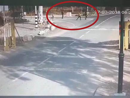 המחבלים שחדרו מעזה לישראל (צילום: חדשות 2)