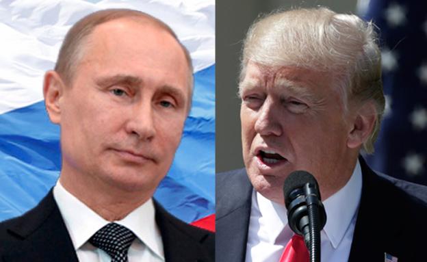 חילופי מהלומות דיפלומטיים. טראמפ ופוטין (צילום: רויטרס)