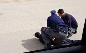תיעוד המעצר בבאר שבע