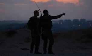 שוב: פלסטינים ניסו לחצות את הגדר (צילום: רויטרס)