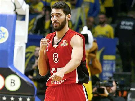 מנקו. ביד אליהו זה נגמר בניצחון אדום (אלן שיבר) (צילום: ספורט 5)