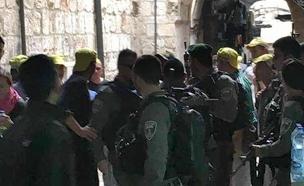 זירת הפיגוע בירושלים (צילום: עד ראייה)