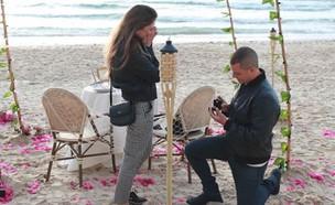 קורל גמר ובן הזוג, מרץ 2018 (צילום: instagram)