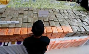 פשיטת סמים בתאילנד (צילום: Twitter/matt_white79)