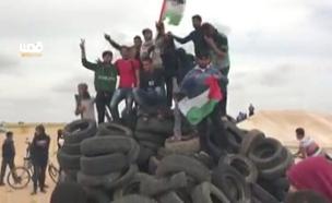 ההסתננות לישראל של הפלסטינים (צילום: חדשות 2)