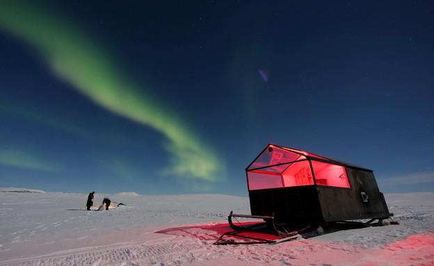 אורות הצפון (צילום: Kilpissafarit)