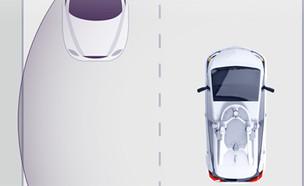מכונית קרוז אוטונומית (צילום: ירדן זהב)
