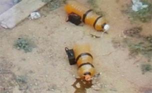 """המטענים שהתגלו (צילום: דובר צה""""ל)"""