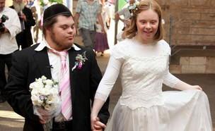 קרן ואביחי חתונה (צילום: צילום ביתי)