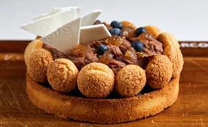 טארט ערמונים (צילום: אמיר מנחם, אוכל טוב)