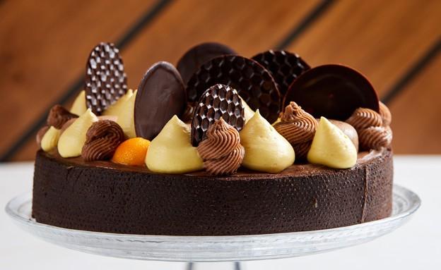 טארט שוקולד וצ'אי (צילום: אמיר מנחם, אוכל טוב)