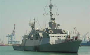 """ספינת חיל הים (ארכיון) (צילום: דו""""צ)"""