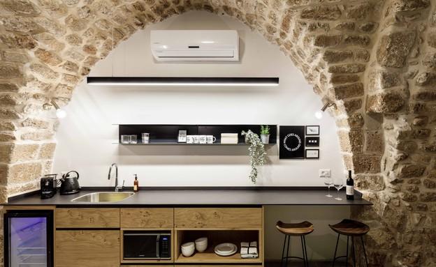בית אבן, מטבח, עיצוב מיכל מטלון (צילום: אורית ארנון)