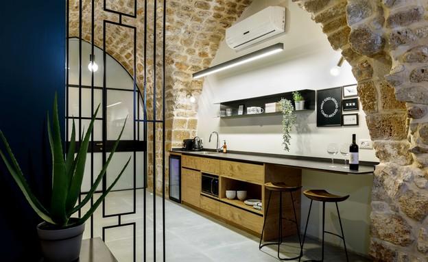 בית אבן, עיצוב מיכל מטלון, מטבח (צילום: אורית ארנון)