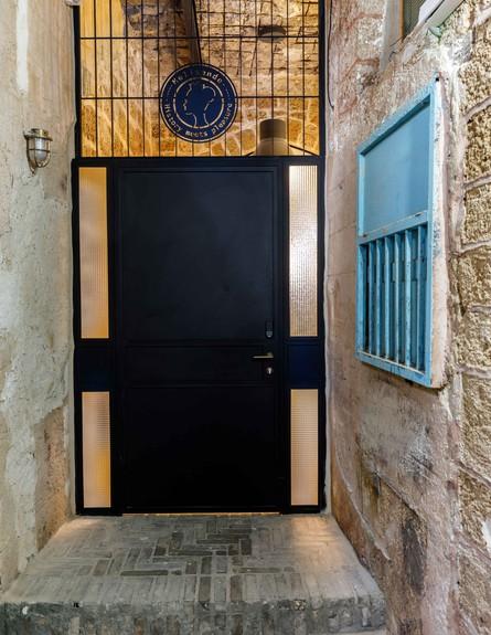 בית אבן, ג, עיצוב מיכל מטלון, כניסה (צילום: אורית ארנון)