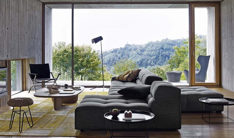 ספות, עיצוב פטריסיה אורקיולה (צילום: tuftytime.com)