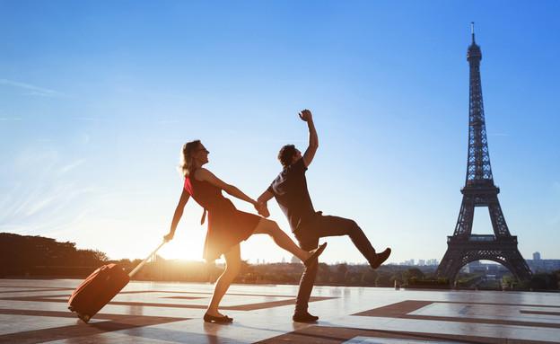 גבר ואישה פריז  (אילוסטרציה: kateafter | Shutterstock.com )