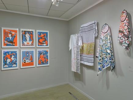 ועדה, תערוכה של יובל סער