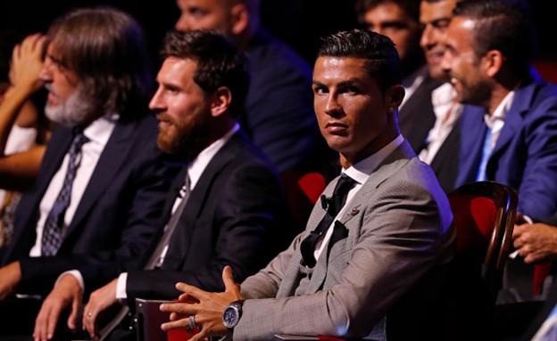 מסי ורונאלדו (צילום: TF-Images/TF-Images via Getty Images)
