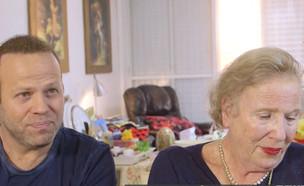 """אדיר מילר ואמו מריאן בראיון ל""""אנשים"""" (צילום: מתוך אנשים, שידורי קשת)"""