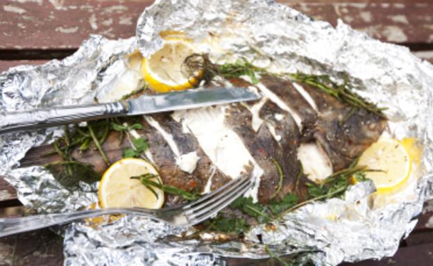 דג בנייר כסף (צילום: foodandwinephotography, Istock)