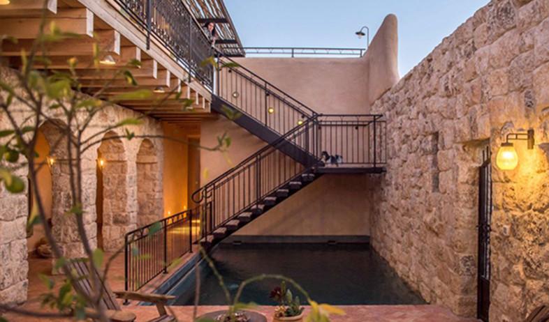 בית אבן. אדריכלות: כפיר וקס (צילום: גלעד רדט)