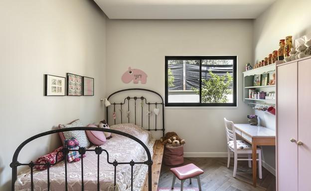 בית בשרון, עיצוב אירה שריג, חדר ילדים (צילום: עודד סמדר)